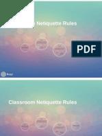 classroom netiquette prezi