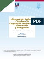 """5º Curso a distancia """"Hidrogeología Aplicada a Proyectos de Cooperación Internacional al Desarrollo y Emergencias""""  (2018)"""