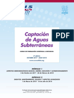 """2º Curso a distancia """"Captación de Aguas Subterráneas"""" (2017 - 2018)"""