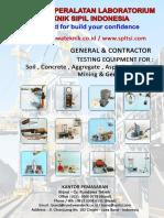Katalog Alat Laboratorium Teknik Sipil - Cv Rundawa Teknik