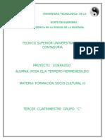 31581 Proyecto Formacion Sociocultural III Docx