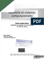 Libro Auditoria de Sistemas Carlos Muñoz Razo