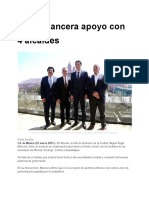 Pacta Mancera apoyo con 4 alcaldes