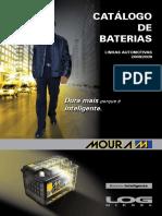 Catálogo de Aplicação de Baterias - Moura