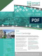 Smart Cambridge Brochure 2017 Dronethinkdo Smart Cities