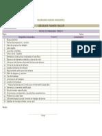 Checklist Planos Taller 20150423