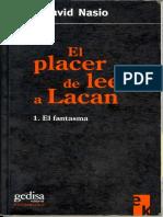 Nasio Juan David - El Placer de Leer a Lacan.pdf