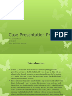 case presentation project final  1