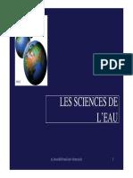 Sciences de l Eau Bensadek
