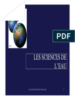 Sciences de l Eau Bensadek