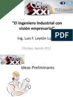 El Ingeniero Industrial Con Visión Empresarial