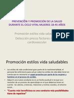 Prevencion y Promocio de La Salud 18-45 Anos