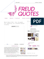 Freud Quotes_ What About Me__ the Struggle for Identity in a Market-based Society