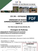 Aula 23 - Drenagem de Rodovias - Dimensionamento - PARTE II