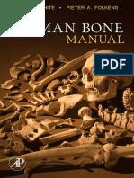 WHITE y FOLKENS 2005 the Human Bone Manual