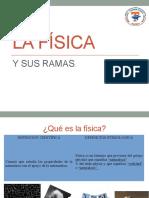 Exposicion La Fisica y Sus Ramas
