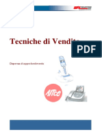 - Dispensa Corso Tecniche Di Vendita Telecom Stampare