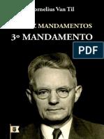 3° mandamento - Cornelius Van Til
