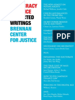 Democracy & Justice, Collected Writings, 2016 - Brennan Center for Justice