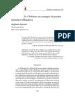 Philosophy for Children Un Esempio Di Pratica Filosofico Educativa Raffaella Esposito