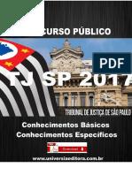 APOSTILA TJ SP 2017 PSICÓLOGO + VÍDEO AULAS