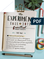 The Experiment Fall 2017 Catalog