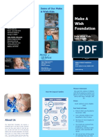 make a wish brochure