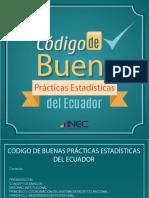 Codico de Buenas Practics Estadisticas Del Ecuador