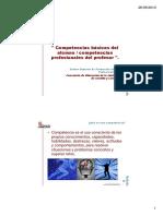 Competencia Docente y Competencias Basicas Tareas