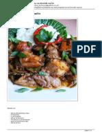 Minjina Kuhinjica-Piletina Na Kineski Način
