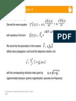 Kramers Kronig Lecture Notes UCF
