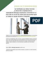 El Liderazgo Empresarial y Sus 10 Características Básicas