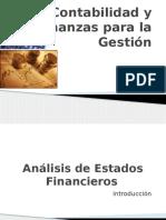 Sesion 2 - Análisis de Estados Financieros