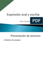 Exp Oral y Esc - 1er Parcial