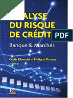 Collectif-Analyse Du Risque de Crédit