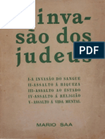 A Invasão Dos Judeus Parte 1_Mario Saa