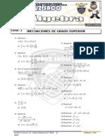 Álgebra 5to Año II Bimestre 2014