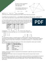 vectors and matrix review