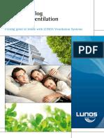 LUNOS Catalogue for Home Ventilation