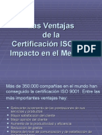Venta Jas Certifica c i on i So 9000