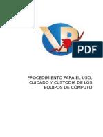 procedimiento para el uso de equipos de computo.docx