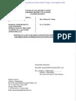 Gary Solomon's defense sentencing memo