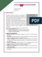 Practica Nº10 Cefalograma Simplificado de Steiner