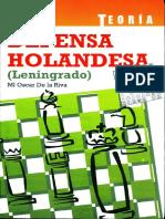 Defensa holandesa (Leningrado) - O. De la Riva.pdf