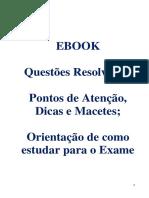 Questões de Contabilidade - Profº Mário Jorge