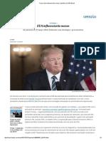 Trump_ EUA Influenciarão Menos _ Opinião _ EL PAÍS Brasil