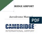 Cambridge Airport Aerodrome Manual V13.0