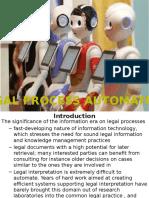 Legal Process Automation