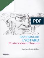 Lyotard Postmodern Durum