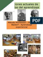 Teorias de La Prendizaje Montessori- Waldorf-Aprendizaje